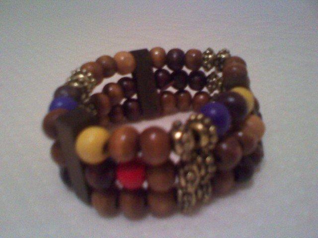Colorful African Bracelet.