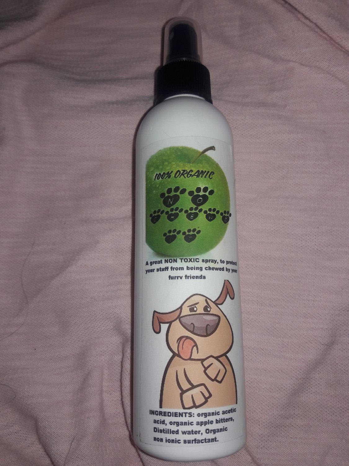 Anti chew spray, for dogs, cats, rabbits, and more! 8 oz. 150 units