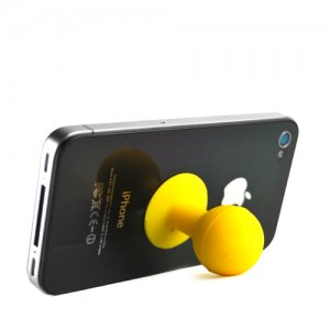 iPhone Stand - Yellow