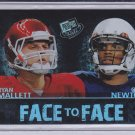CAM NEWTON RYAN MALLET 2011 PRESS PASS FACE TO FACE #FF3