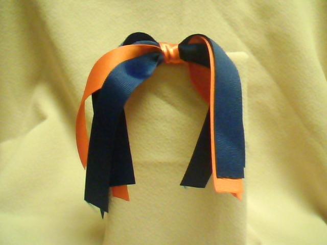 Blue & Orange Streamer