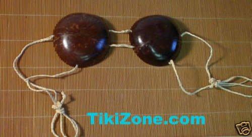 Coconut Bra - Hula Bikini Top
