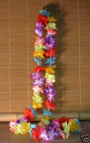 Small Hawaiian Flower Leis (1 Dozen per Package)