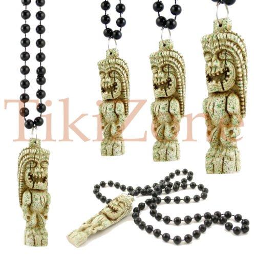 Hawaiian/Parrothead Tiki Necklace (Wholesale 12 Pack)