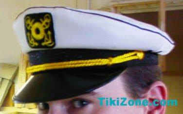 Captains Hat - Skipper your own Kon Tiki Raft !!!