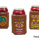 12 Hawaiian Tiki Party Can/Bottle Luau Koozies - Surfer Beach Party Beer koozie
