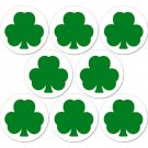 8 Pack of Irish Shamrock Drink Coasters - St. Patricks