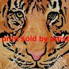 Tiger's Face Art Print
