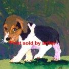Little Beagle pup Art Print