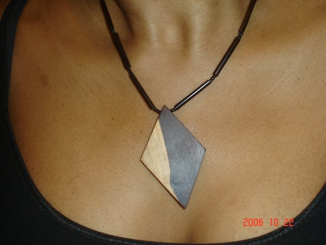 Wooden Chokers - Diamond