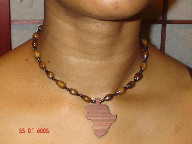 Wooden Chokers - Africa