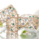 Amazing 14kt Gold filled bracelet with Swarovski beads