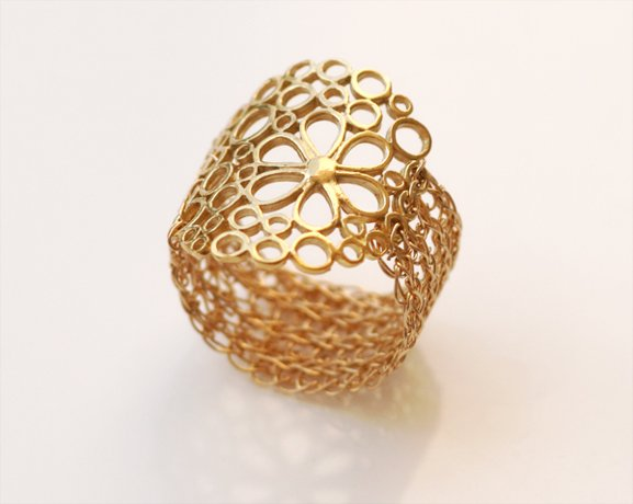 Beautiful 14kt Gold filled ring