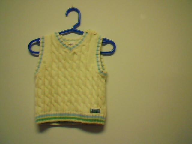 Yellow Sweater Vest