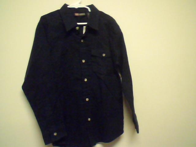 Dark Navy Flannel