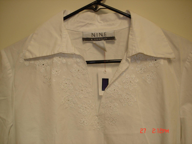 Nine & Company Blouse, Size 8