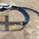 Rhinestone Cross Shamballa