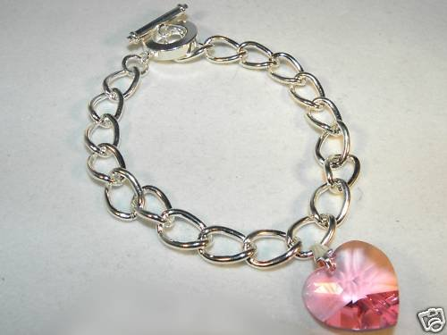 Heart Crystal Bracelet made with SWAROVSKI ELEMENTS
