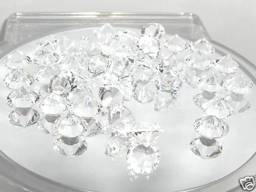 7.1mm Wedding Table Crystals Clear  SWAROVSKI ELEMENTS