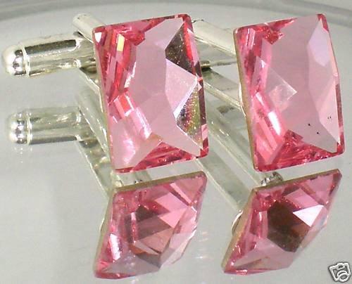 Cufflinks COSMIC Crystal made with SWAROVSKI ELEMENTS