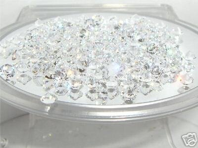 100 4mm Flat Table Clear Crystals SWAROVSKI ELEMENTS