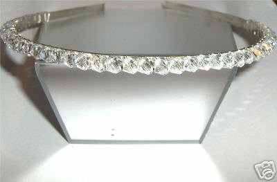 Wedding Bridal Headband Crystal Tiara Prom made with SWAROVSKI ELEMENTS