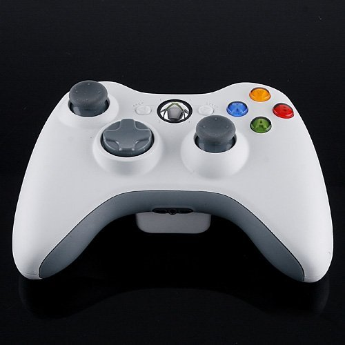 Wireless Controller for Microsoft xBox 360 Wireless Controller Joypad White