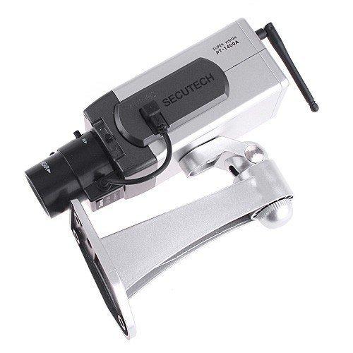 Wireless Dummy Fake camera Motion Detection LED Surveillance Camera