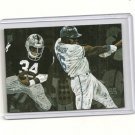 Bo Jackson Hand Bonded Card Raiders Royals Baseball football Plain Back 1/1