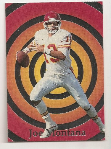 Joe Montana INVESTOR'S CHARISMA PICK 4 SCARCE SILVER Foil Parallel  95