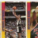 CHARLES BARKLEY PATRICK EWING DAVID ROBINSON CARD STRIP Parallel