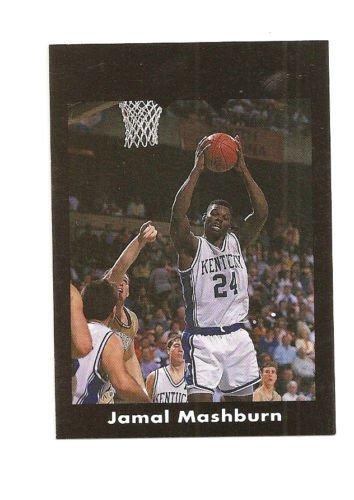 Jamal Mashburn Error Card or Printer's Proof IJ Black Border RARE 1/3? Kentucky
