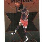 MICHAEL JORDAN  IJ 1995 CHARISMA PICK #1 COPPER Foil Parallel  1/125
