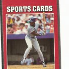 Darryl Strawberry Error Variation Card SCN #25 Foil Off
