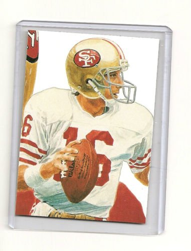 Joe Montana Hand bonded Card from Magazine #3 Unique 1/1  Only one