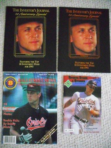 Cal RIpken Magazine Lot of 4 Rare  L@@k!
