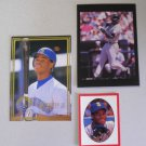 oddball lot Ken Griffey, Jr Error Miniature and Superstars #31 Rare