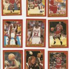Michael Jordan Magic Johnson 36 Card Set Finals 1991