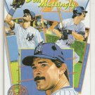 Don Mattingly Homemade NY Yankee  Artwork Card Plain Black Back Unique only 1/2