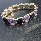 Brand New Beautiful Costume Purple Jewel Bracelet