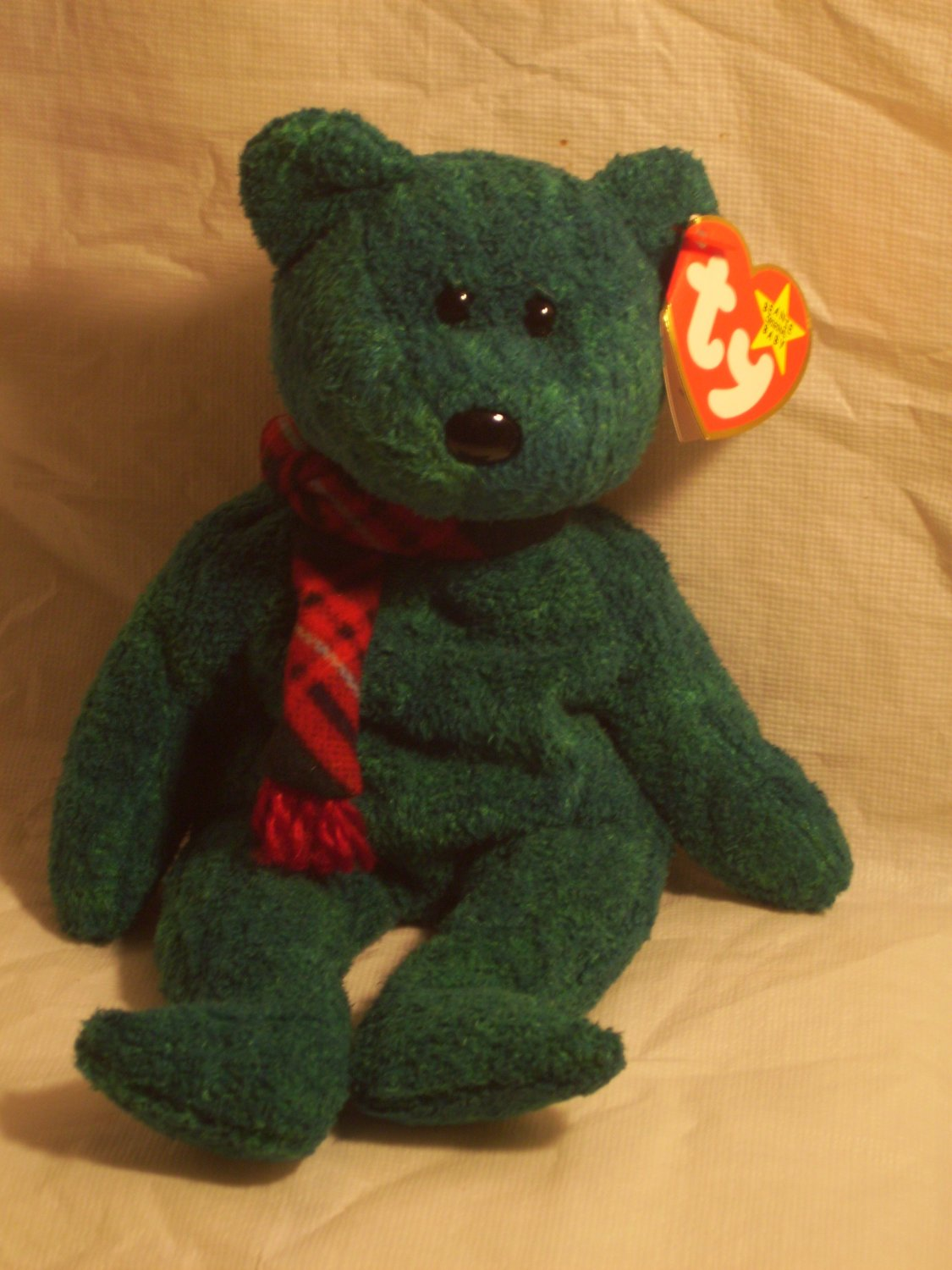 """Wallace """"the bear""""**RETIRED**Ty beanie baby"""
