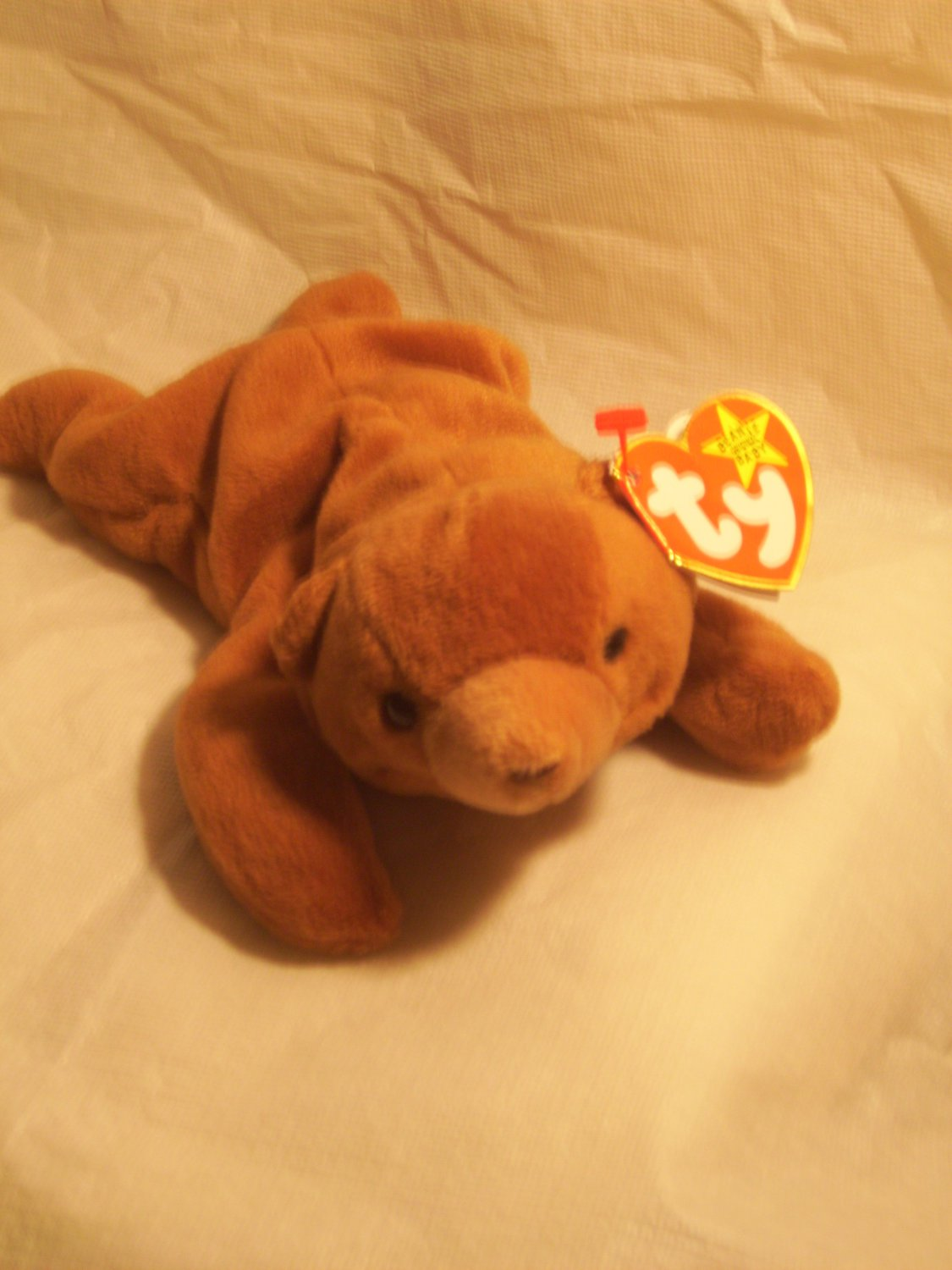 "Cubbie ""the bear""**RETIRED**Ty beanie baby"