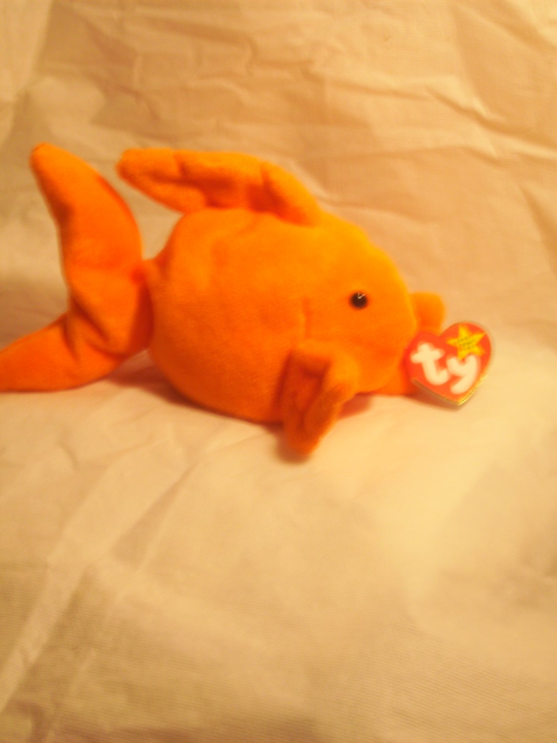 """Goldie """"the fish""""**RETIRED**Ty beanie baby"""