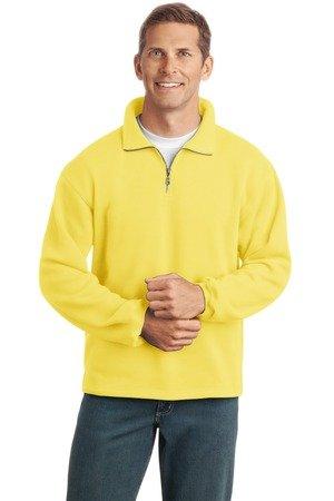 1/4 zip sweatshirt -yellow