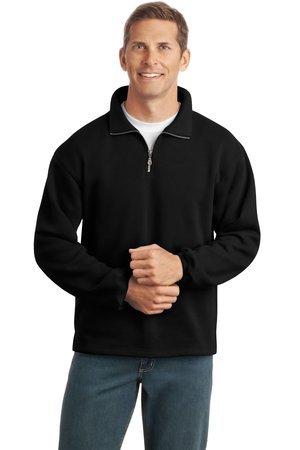 1/4 zip sweatshirt-black