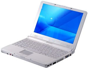 MSI MS-1058 notebook laptop Turion 64x2 TL-50 80GB 512MB DVD