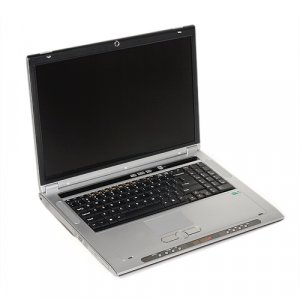 Clevo M570U WXGA laptop notebook Core 2 Duo Merom T5500 nVidia 7800GTX 80GB 1GB DVD