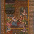 Moghul Mughal Miniature Painting Islamic Script Art