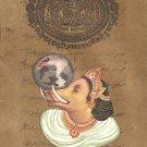 Varaha The Boar Art Handmade Hindu Deity Third Incarnation of Vishnu Painting