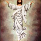 Jesus Christ Art Handmade Indian Christian Bible Oil on Canvas Holy Painting
